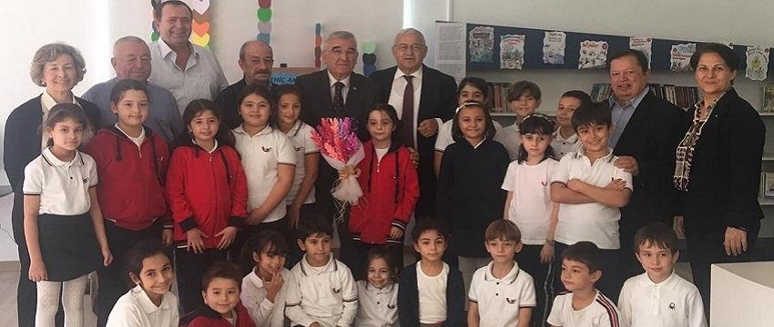 , ODTÜ KYÖV Okulları'nın Yenilenen İlkokul Kütphanesi…