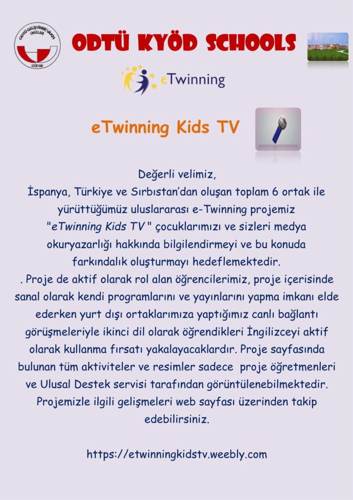, eTwinning Kids TV…