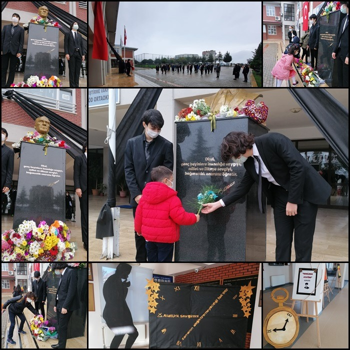 , 10 Kasım Atatürk'ü Anma Töreni…