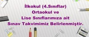 2020-2021 Sınav Takvimi...