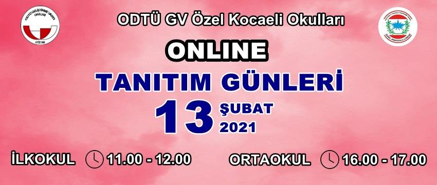 , Online Okul Tanıtım Günü…