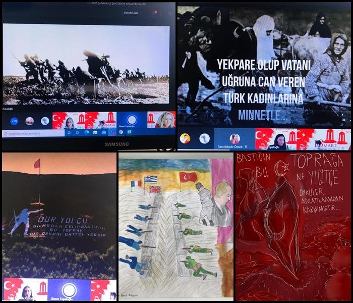 , 18 Mart Çanakkale Şehitlerini Anma Töreni…